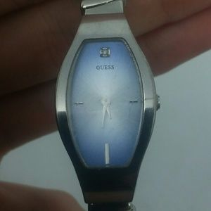 GUESS Women Silver-Tone Watch